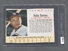 1963 Post #27 Felix Torres (White Sox) (RB14)  Vg-Ex  ( Flat Rate Ship)