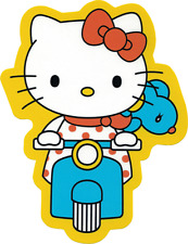 15992 Hello Kitty Joey Mouse Scooter Kawaii Japan Sanrio Die Cut Sticker / Decal
