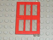 Porte rouge LEGO VINTAGE door ref 73312 / sets 710 725 6374 1708 1065 ...