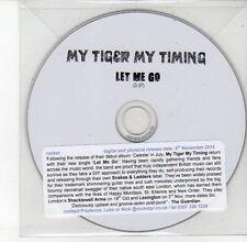 (DV590) My Tiger My Timing, Let Me Go - 2012 DJ CD