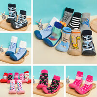 Baby Flooring Footwear Silicone Soles Socks Rubber Shoe For 1-24 Months Newborn