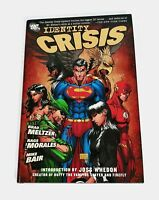 Identity Crisis by Brad Meltzer DC Hardcover Graphic Novel First Printing LN!