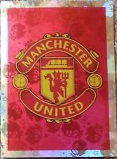 185 MANCHESTER UNITED badge shiny 2016/2017 Topps Merlin Premier League sticker