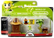 Link & Outset Island (The Legend Of Zelda) Microland Action Figure