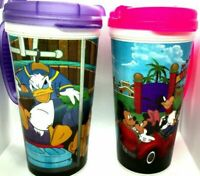 mugs lot Of 5 disney whirley fun children mickey mouse pluto minnie mouse kid