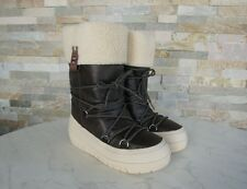 NAPAPIJRI Gr 36,5 Stiefel Schneestiefel Fell BELLA Schuhe Winter braun NEU