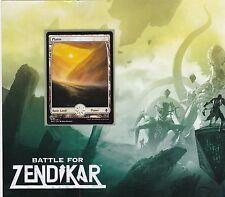 2x 2 x PLAINS 250 - Full Art BASIC LAND - Mint MTG Battle for Zendikar