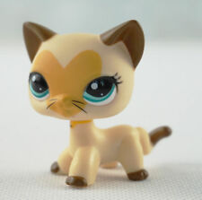 Littlest Pet Shop #3573 Tan Brown Heart CatKitty Cat Hasbro Collection Kids Toys