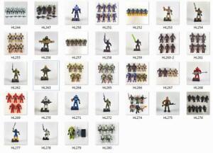 Halo Mega Construx Mini Figures Brutes Spartan WWII Soldier -Your Choice