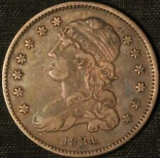 1834 Capped Bust Quarter - Free Shipping USA
