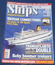 SHIPS MONTHLY JULY 2004 - IBERIAN CONNECTIONS/TRANSATLANTIC DOUBLE