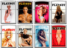 Zippo PlayBoy Cover 8 Lighter Set Pin Up Pinup RARE set #13 NEW L@@K