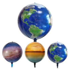 22 Inch 4D Creative Planet Space Science Fiction Theme Balloon Party Decoration