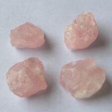 Nuggets GEMSTONE Beads Natural Chakra Reiki Healing Crystal Synthetic Rose Quartz - Pink