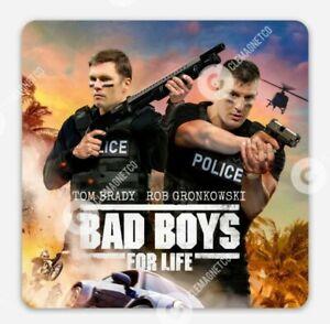 Tom Brady & Rob Gronkowski MAGNET - Tampa Bay Buccaneers BAD BOYS Gronk