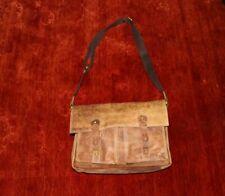 Vintage, kultige Leder Tasche braun Schulterriemen verstellbar, für Schule o. ä.