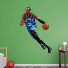 """Kevin Durant FATHEAD Real Big LIFESIZE ONLY (4'6"""" x 5'11) Thunder NBA Graphics"""