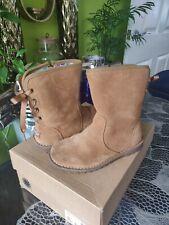 Ugg Girls Boots Kids Size 11 Uk Eur 29 Style Corene  Used With Box