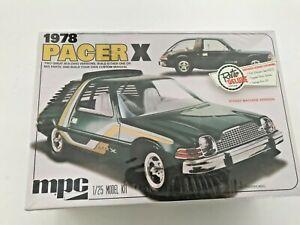 1978 MPC PACER X MODEL KIT MPC802/12 1/25 SCALE CAR RETRO DELUXE EDITION NIB