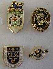 BLACKBURN ROVERS Football Lapel Pin Badges x 4 Lot2 CHAMPIONS 1995
