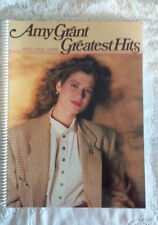 Amy Grant Greatest Hits spiral bound songbook piano vocal guitar Tenn. Christmas
