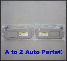 NEW 2006-2008 Hyundai Sonata DRIVER & PASS Beige SUN VISORS W/Sunroof,OE Hyundai