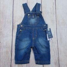 OshKosh B'gosh Unisex Baby's Overalls Size 18M Knit Denim Stretch Nwt