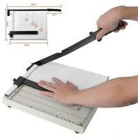 A4 to B7 Paper Photo Cutter Guillotine Trimmer Knife Metal Base,12 Sheets