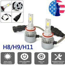 H11 H9 H8 LED Headlight Bulb Kit Low Beam Fog Light 300W 6000K 30000LM