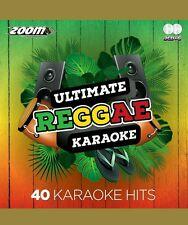 Zoom Karaoke CDG   Ultimate Reggae Karaoke CDG    40  top tracks on 2 discs