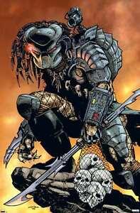 Predator - Skulls Poster