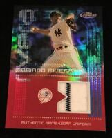 2004 TOPPS FINEST MARIANO RIVERA FINEST RELIC REFRACTOR JERSEY W/ PINSTRIPE