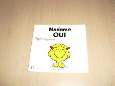 """Madame OUI   Roger Hargreaves Collection """"Les Dames"""""""