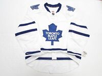 TORONTO MAPLE LEAFS AUTHENTIC AWAY TEAM ISSUED REEBOK EDGE 2.0 7287 JERSEY 58+