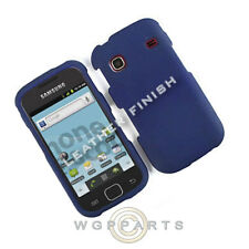 Samsung R680 Repp Shield Rubberized Navy Cover Shell Protector Guard Shield Case