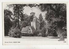 Norman Church Albury Park Vintage RP Postcard 197b