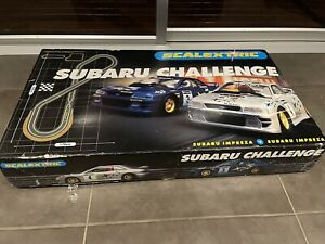 Scalextrics Subaru Challenge