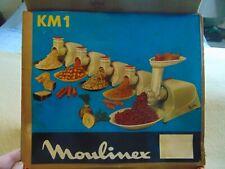 Vintage Retro MOULIMEX KM1 Electric Meat Grinder Metal Working 1950/60's 1MPU