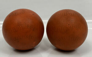 Lot Of 2 Red Cannonball Weighted Softball Pitching For Training/Rehab/Warm Up