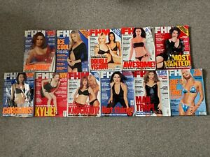 FHM Magazine Collection, 34 No. (1997 to 2004)