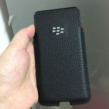 For Blackberry KEY2/Keytwo Case Litchi Pattern Genuine Leather Cover With Sleep