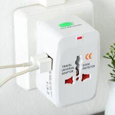 Universal Adapter Dual USB Power Charger Travel Electric Converter Plug AZ