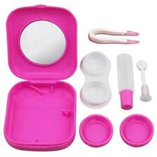 Mini Contact Lens Travel Kit Case Pocket Size Storage Holder Soaking Container