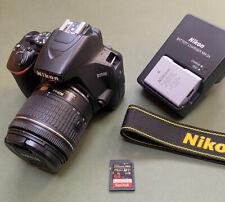 Nikon D3500 DSLR Camera + AF-S 18-55mm Lens Kit Boxed VERY LOW Only 2718 Shots