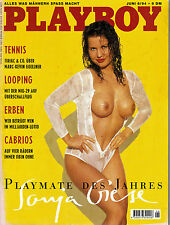 Playboy 06/1994   *SONJA GIESE*   Juni/1994