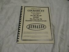 Cockshutt 20 30 40 50 co-op E2 E3 E4 E5 tractor service shop manual by Jansales