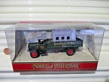 Matchbox Models of Yesteryear 1991 Y41A 1932 MERCEDES BENZ L5 LORRY HOWALDTSWERK
