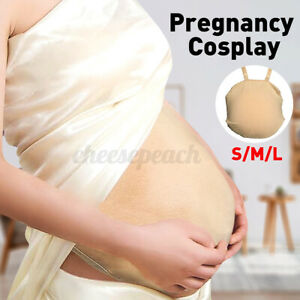 Fabric Artificial Pregnant Belly Baby Tummy Fake Abdomen Pregnancy Pregnant Bump