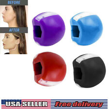Jawline Exerciser Exercise Fitness Ball Neck Face Jawzrsize Toning Jaw US