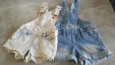 Kinder-Jeans-Short-Latzhose, Doppelpack Gr. 92